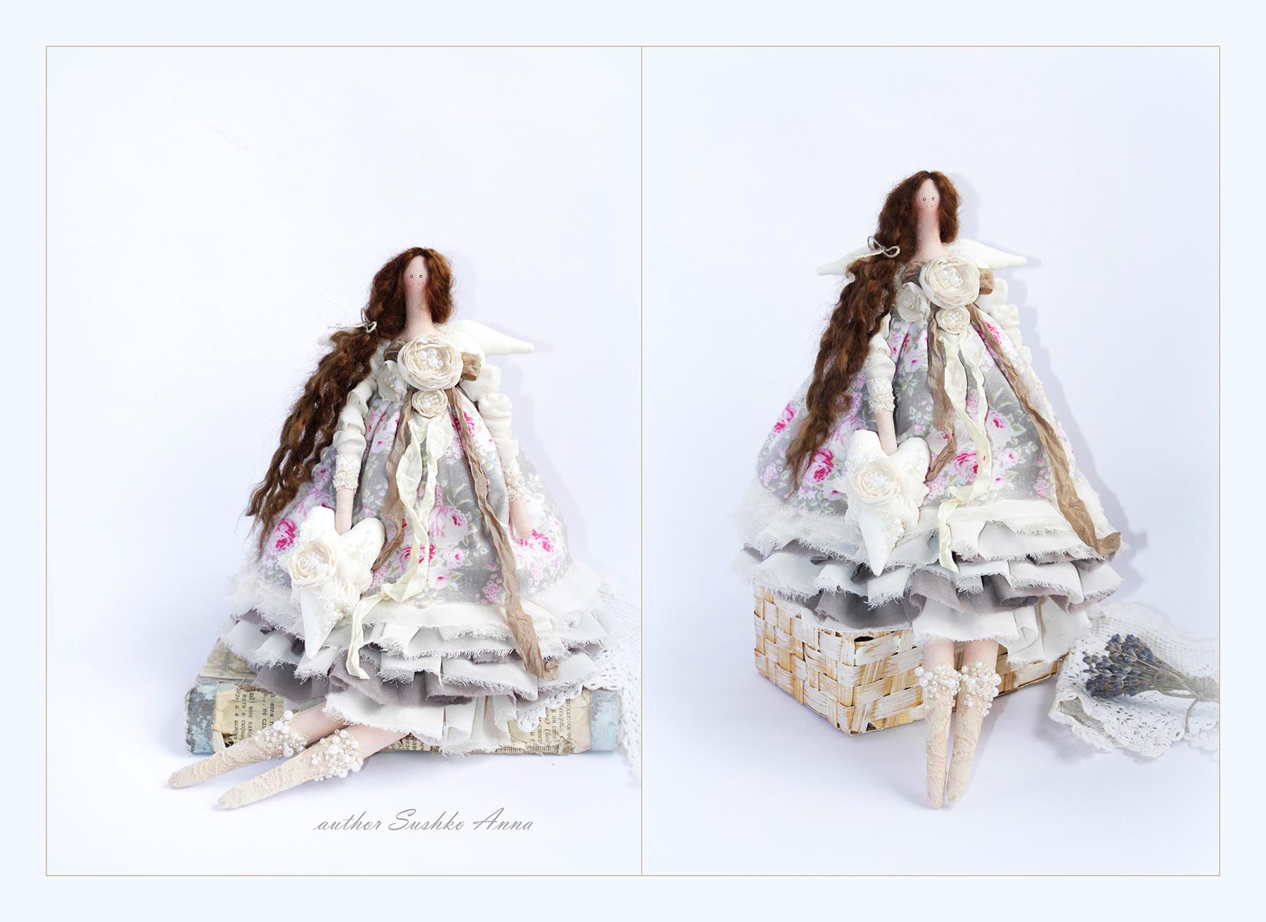 Как сшить бохо платье для тильды 26