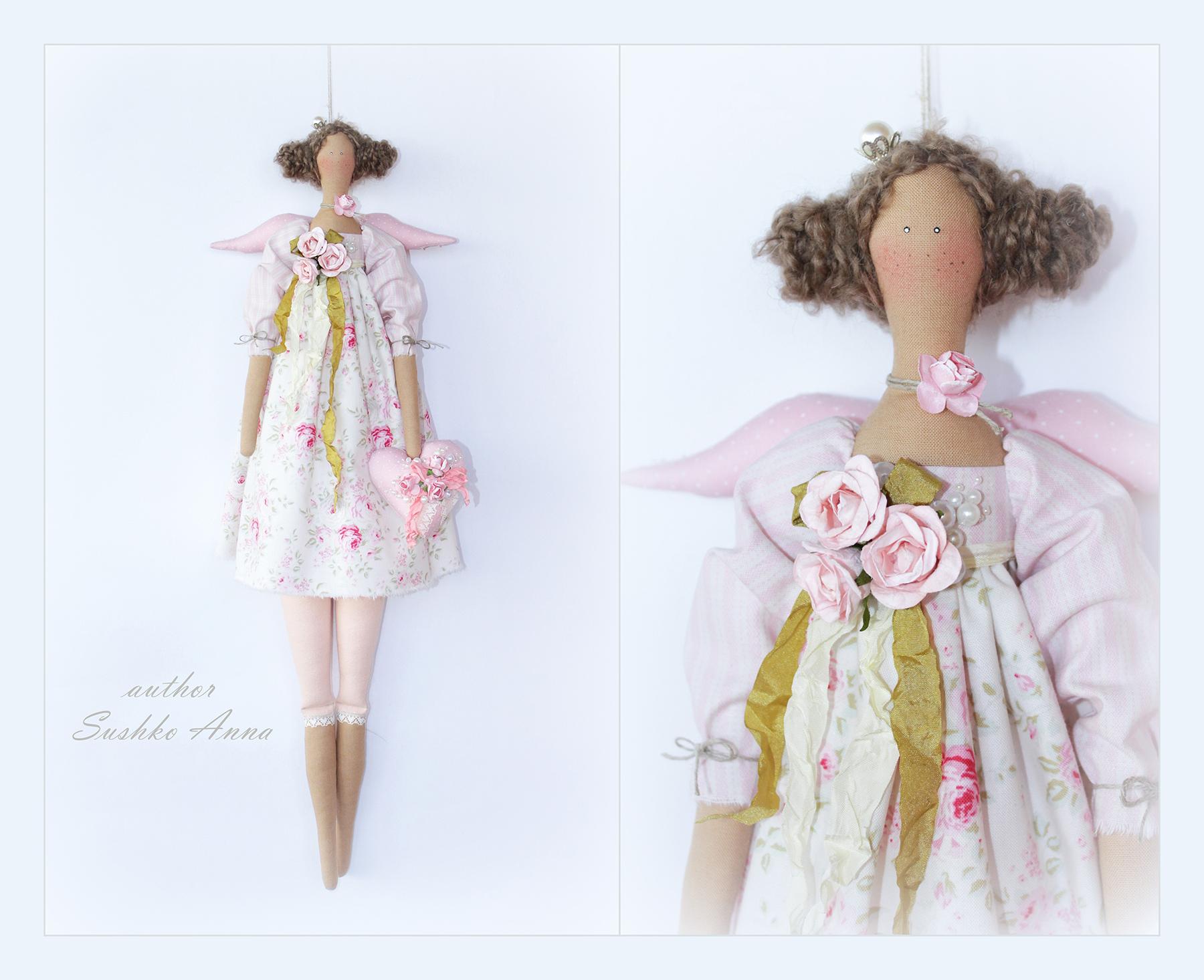 Как сшить многослойную юбку для куклы тильда 68