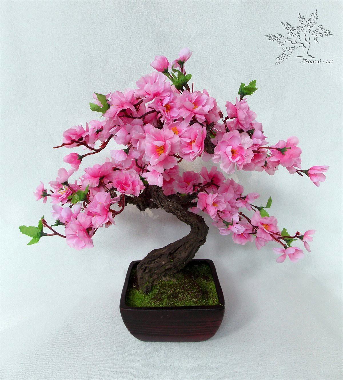 Сделать сакуру своими руками из искусственных цветов