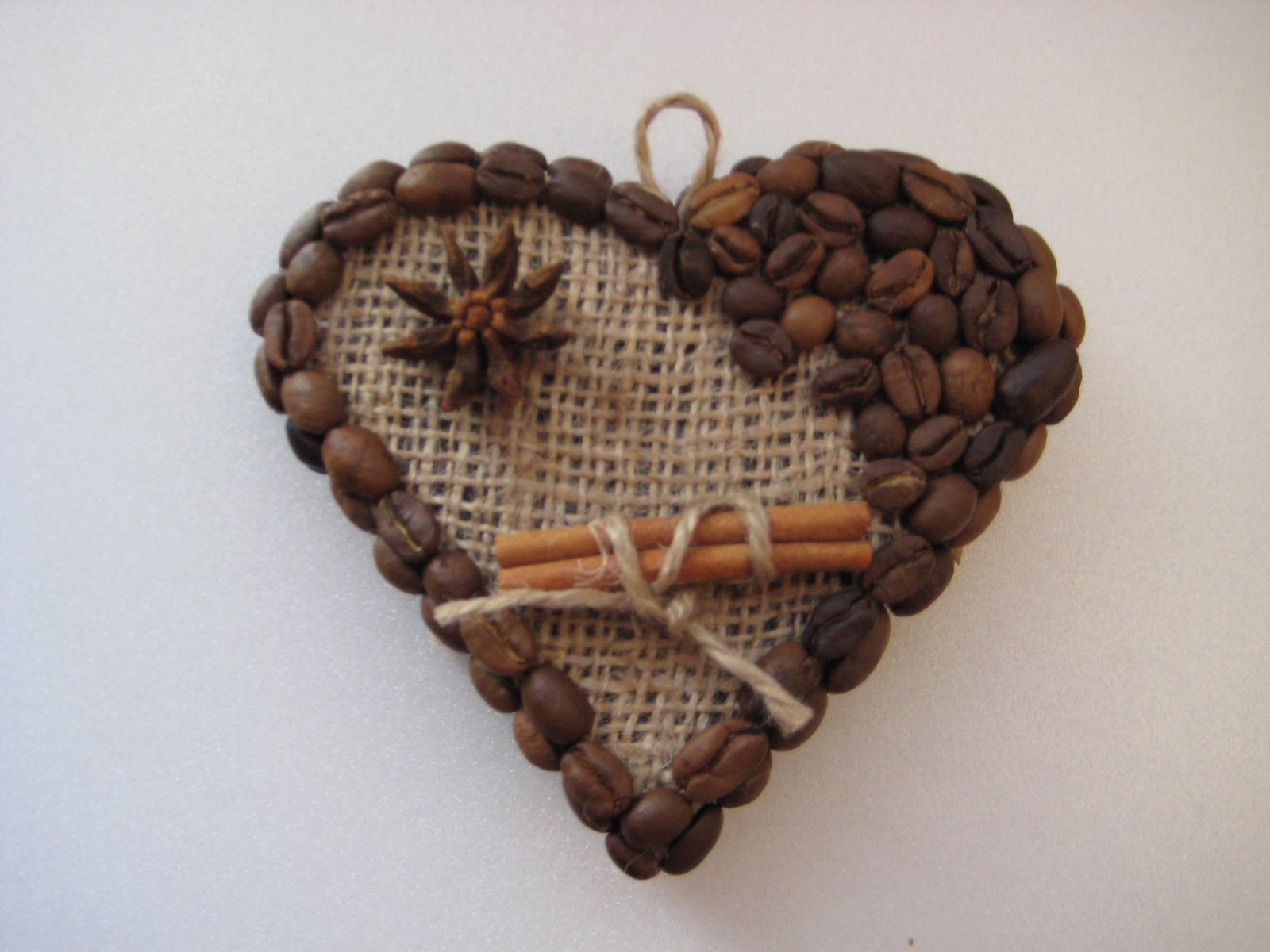 Сердечки магниты из кофейных зерен своими руками
