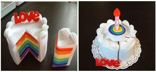 Как сделать игрушечный тортик своими руками